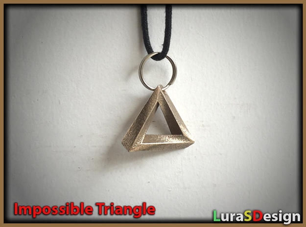 Impossible Triangle Pendant