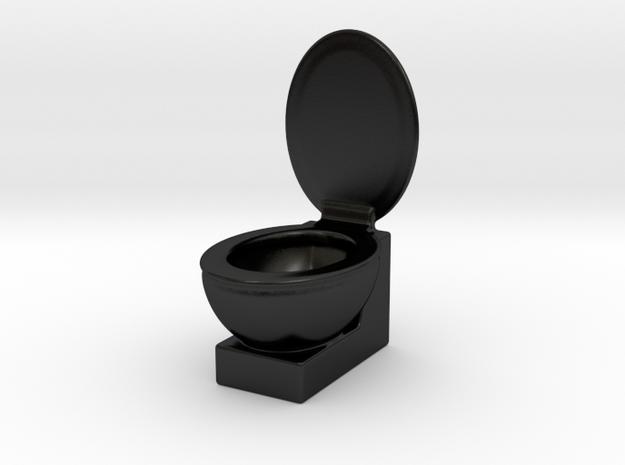 Loo in Matte Black Porcelain