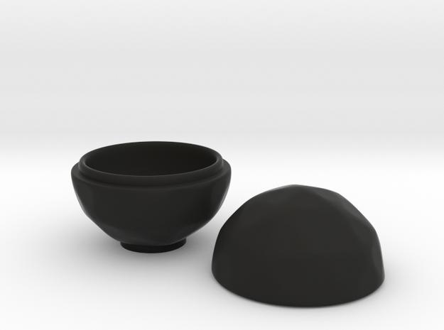 Icono Tea Container in Black Strong & Flexible
