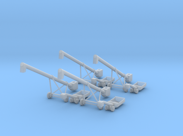 4 MK100x40 Truck Loader Augers N Scale