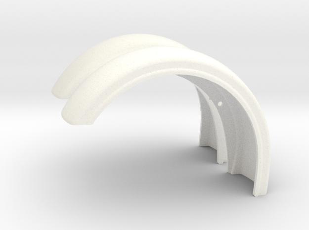 Pete Custom Fender style 1 in White Processed Versatile Plastic