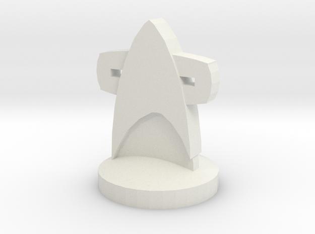Starfleet Ground Forces in White Natural Versatile Plastic
