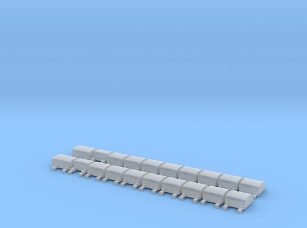 Bremswiderstände, Versuchszug Wannseebahn in Smooth Fine Detail Plastic