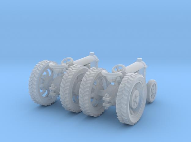 2 Farm Tractors TT Scale