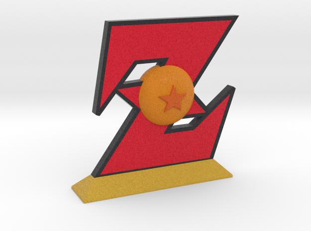 Dragon Ball Z Emblem in Full Color Sandstone