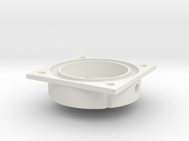 C2 Piezo Pump2d in White Natural Versatile Plastic
