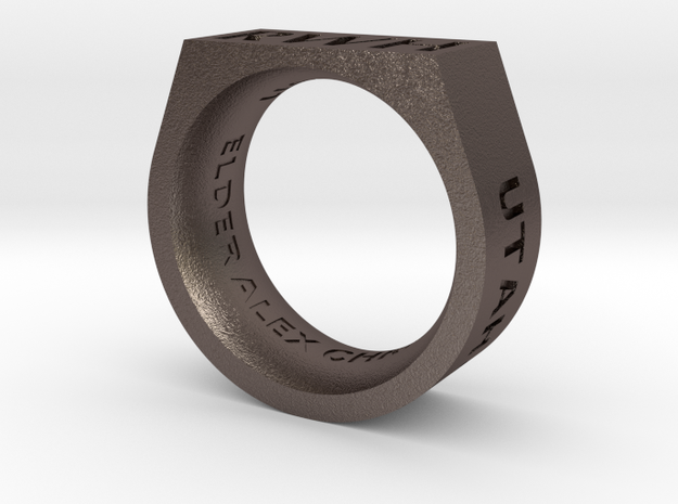 Return With Honor ring 3d printed