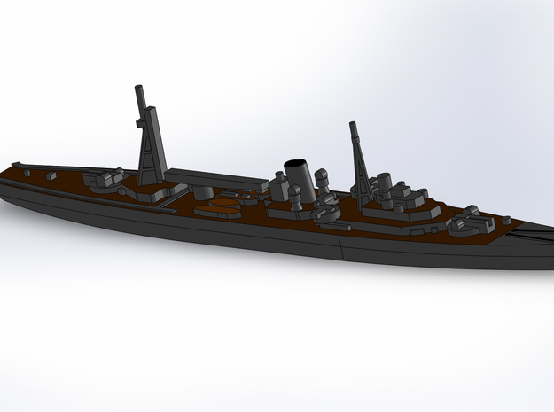 IJN Minelayer Tsugaru 1941 1/1800 3d printed