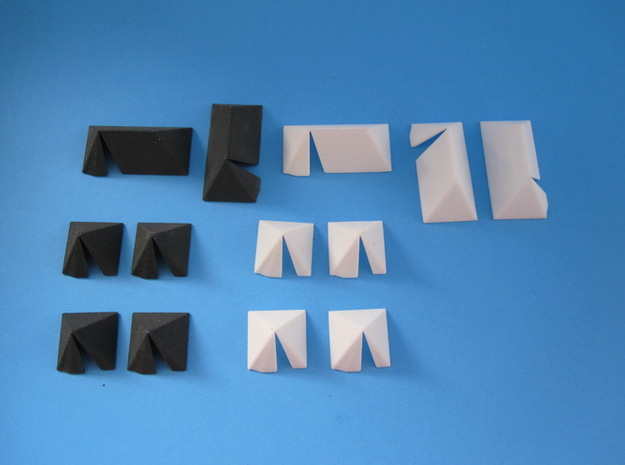 1/144 German Wehrmacht tents 3d printed