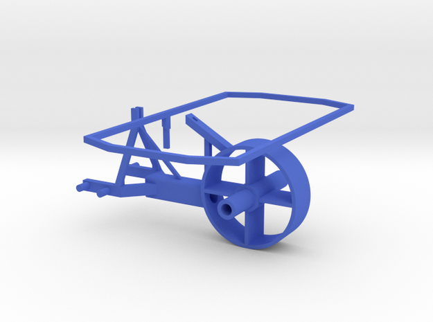 Grass Silage Spreader - Frame 1/32 in Blue Strong & Flexible Polished