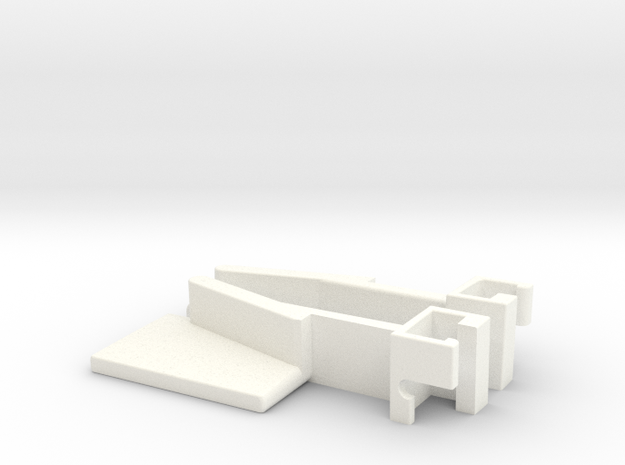 IIgs Latch - Pair in White Strong & Flexible Polished