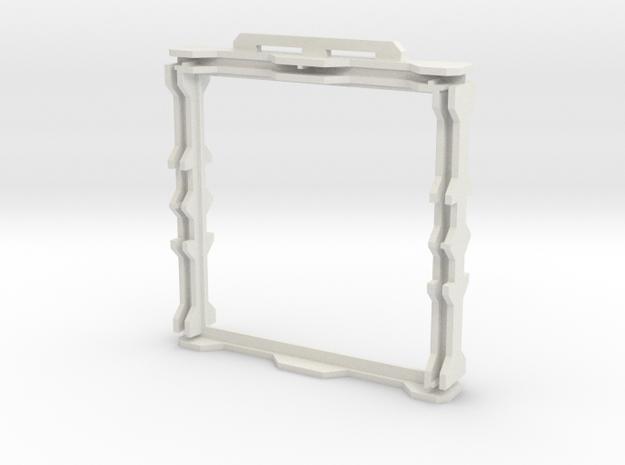 Gen2 DIY BULKHEAD Frame  in White Natural Versatile Plastic
