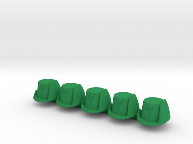 5 x Landwehr in Green Processed Versatile Plastic
