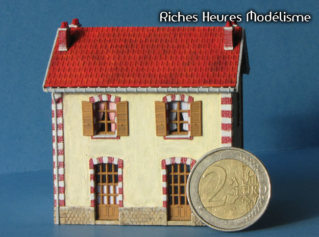 NVPP03b - Suburban house in Smooth Fine Detail Plastic