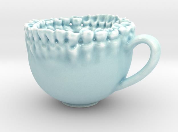 Teeth Tea Cup 3d printed