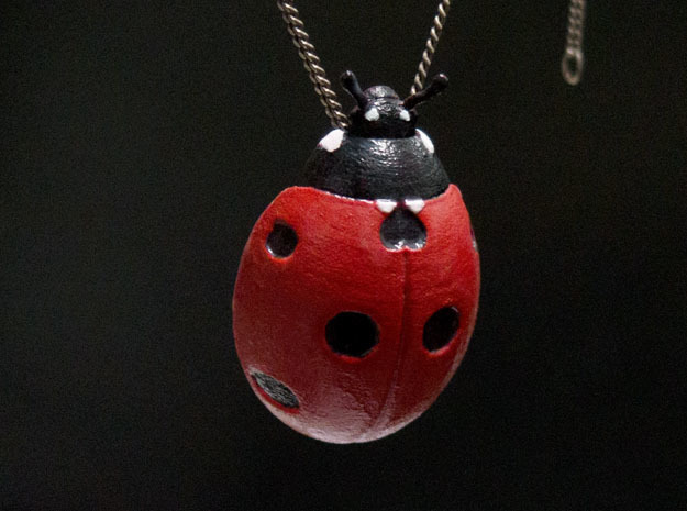 Ladybug in Red Strong & Flexible Polished