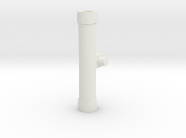 Handle Adapter (Sword) for Nonnef Hands in White Natural Versatile Plastic