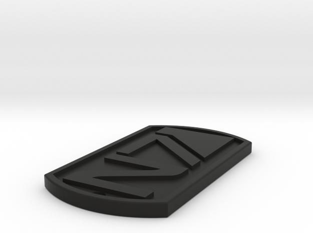 N7 Dogtags in Black Natural Versatile Plastic