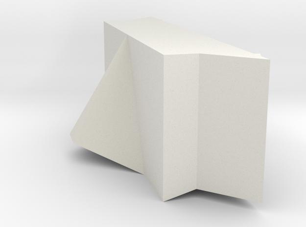 03B-ALSEP-A9 in White Natural Versatile Plastic