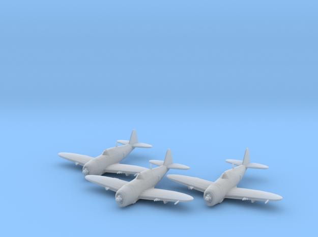 Republic P-47 'Thunderbolt' Razorback 1:200 x3 FUD in Smooth Fine Detail Plastic