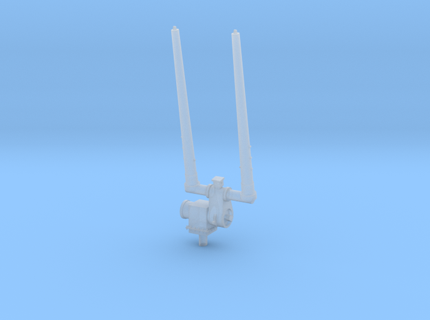 1/96 Ticonderoga Class - Aft Antenna - Duel in Smooth Fine Detail Plastic