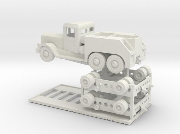 TT (1/120) Tiger Transport  in White Strong & Flexible