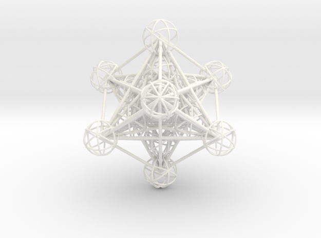 3D Metatron's Cube (small)