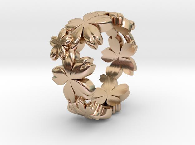SakuraringK in 14k Rose Gold