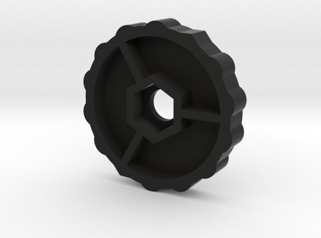 Nut Extender M3 in Black Strong & Flexible