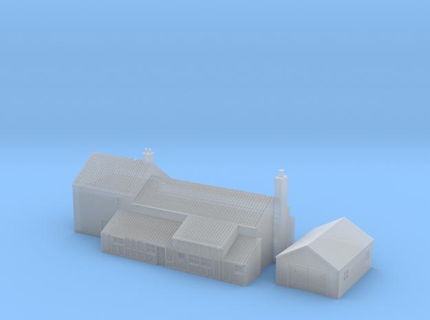 1:700 Scale Parham Village House 2 in Smoothest Fine Detail Plastic