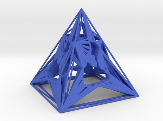 3D Printed Block Island Pyramid Tea Light