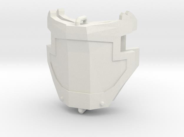1/6 SCALE Hip ARMOR 1 pair revised Scale & Spru in White Natural Versatile Plastic