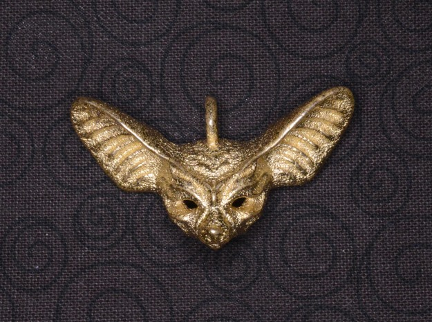 Fennec Small Pendant in Stainless Steel