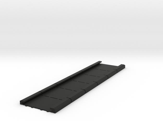 Unilux Plisse Fit hordeur geleiders, screen door in Black Natural Versatile Plastic