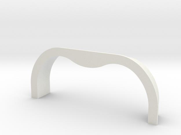 TK&A  Grommet Straight  Flange in White Strong & Flexible