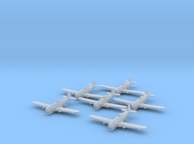 Fiat G.55/S 'Silurante' with Torp 1:285 x6 FUD in Smooth Fine Detail Plastic
