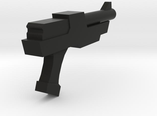 Space Gun in Black Natural Versatile Plastic