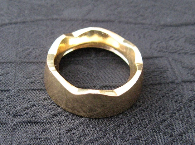 Ag Torch: Brass Bezel Ring (3 of 4)