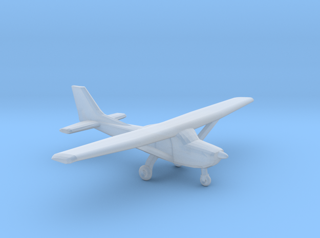Cessna 172 - Z scale 3d printed