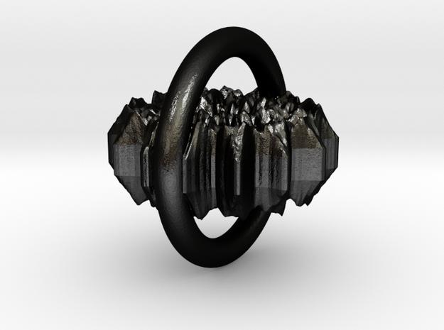 diadem in Matte Black Steel
