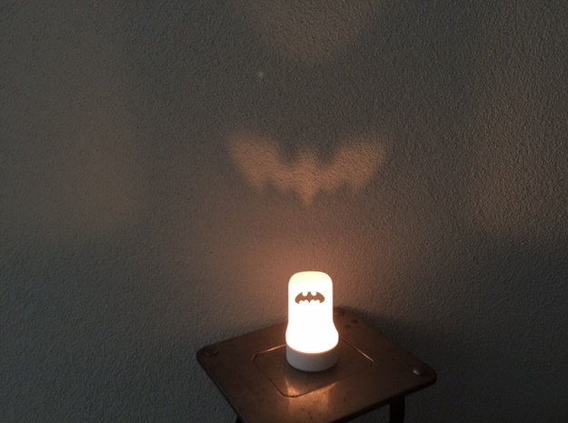 Batman Theelight in White Natural Versatile Plastic