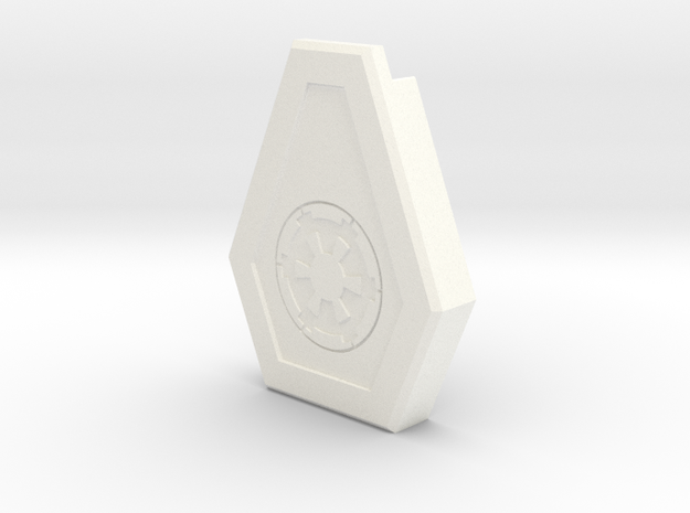 T-21 Greeblie Cap in White Processed Versatile Plastic