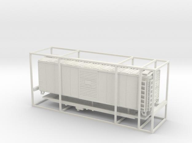 PRR X29B White Plastic Coarse Details