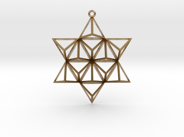 TetraStar in Polished Gold Steel