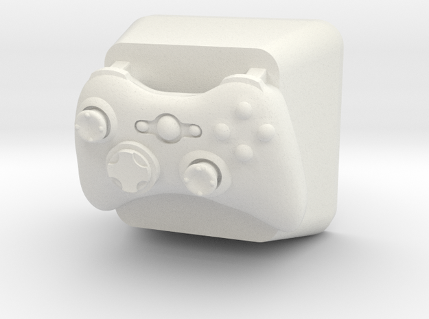 Topre Xbox Keycap in White Natural Versatile Plastic