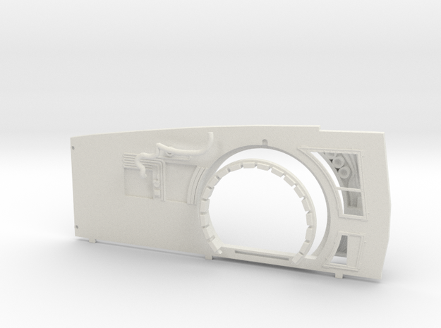 Extended Starboard Wall Replacement for DeAgo Falc in White Strong & Flexible