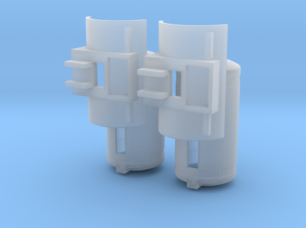 Agri Product Tank Pair in Smooth Fine Detail Plastic