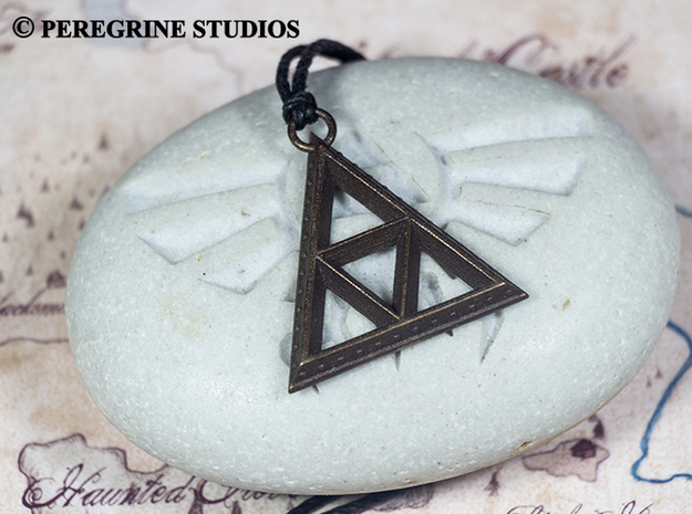 Pendant - TriForce (Bumps)