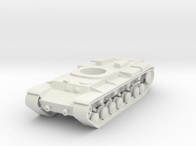 1/100 Long KV Hull in White Natural Versatile Plastic