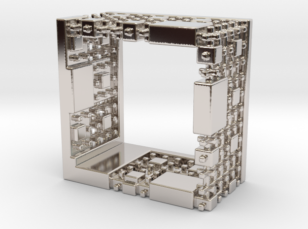 Menger Mondrian Matrix Ring